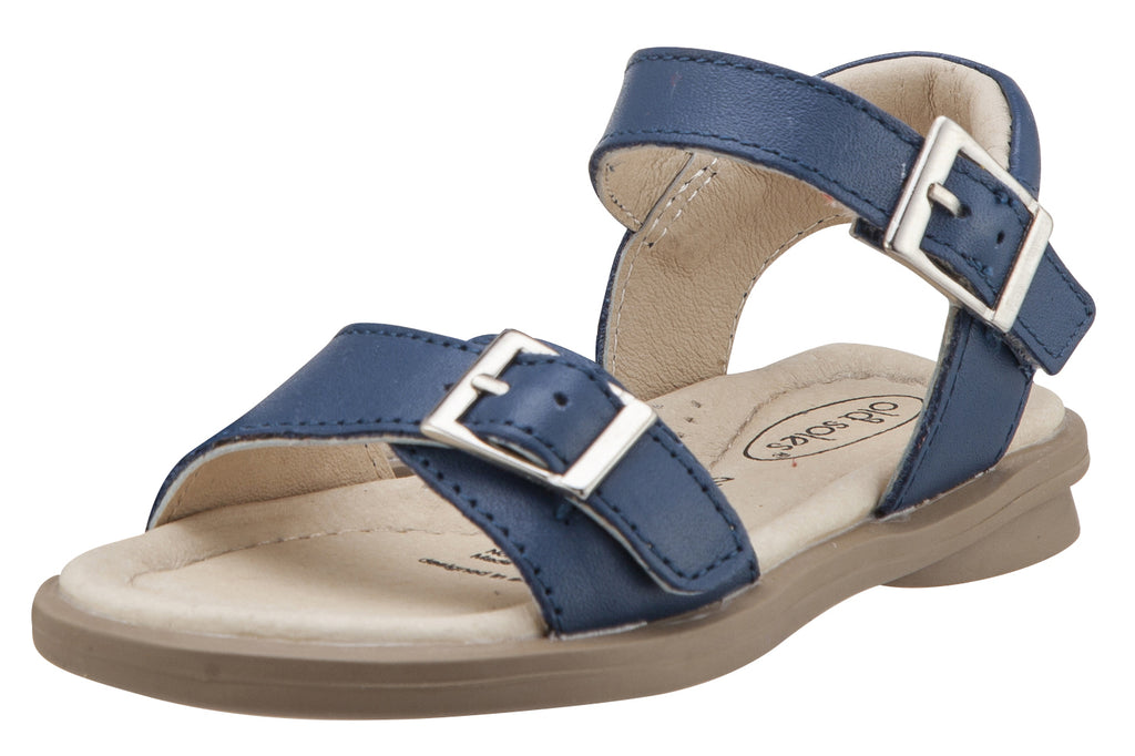 Old Soles Girl's Nevana Leather Sandals, Jeans