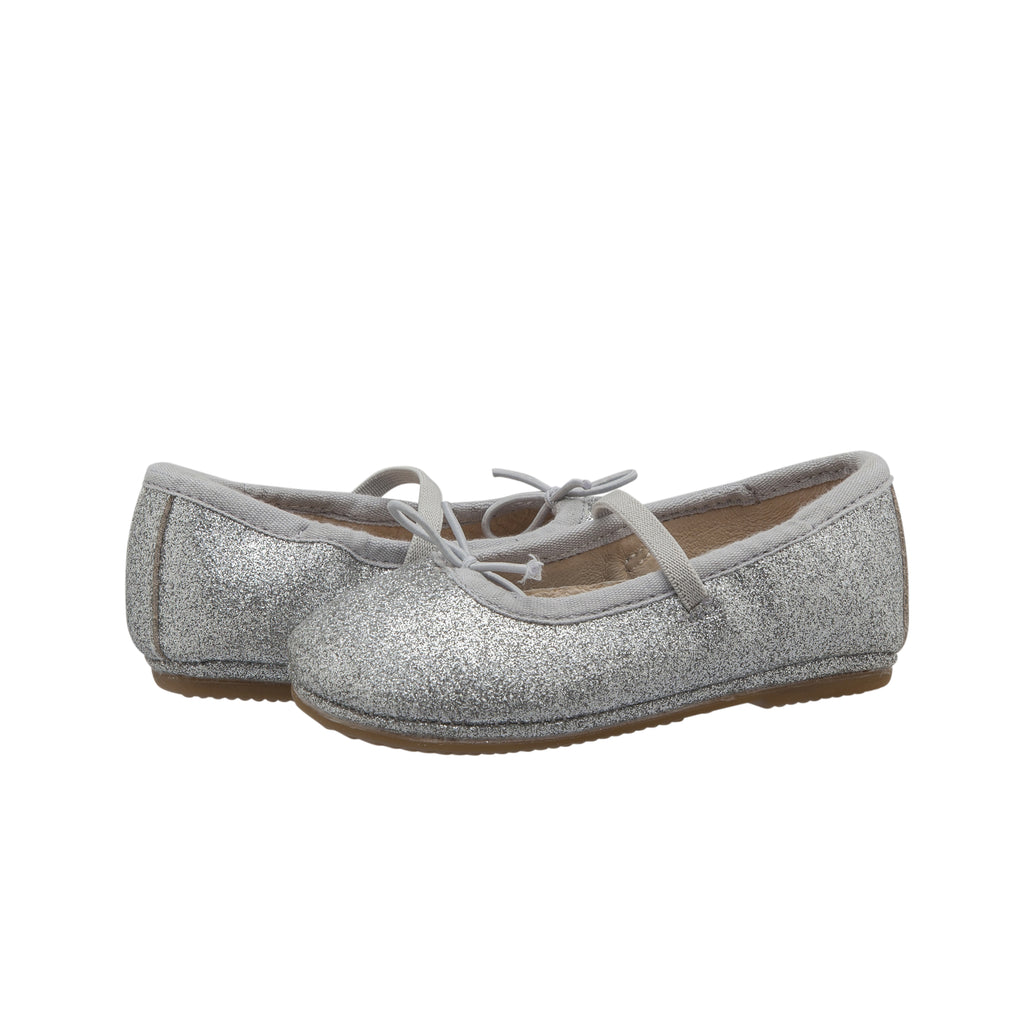 Old Soles Girl's Cruise Ballet Flat - Glam Argent