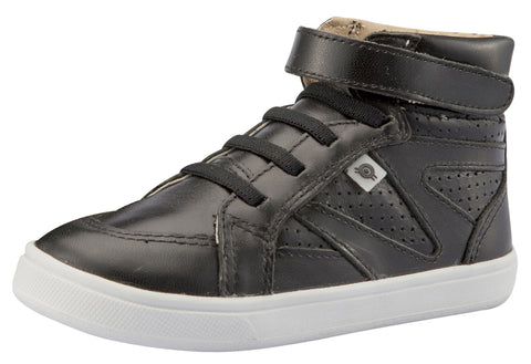 Old Soles Girl's & Boy's Starter Sneakers, Nero