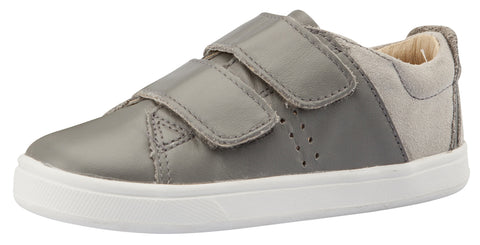 Old Soles Girl's & Boy's Toko Sneakers, Grey / Grey
