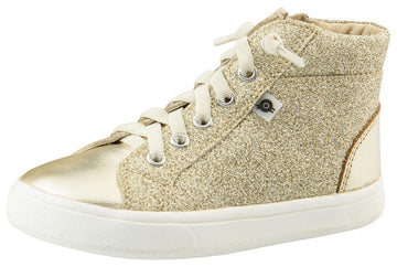 Old Soles Girl's and Boy's Ring Sneaker Shoe, Gold