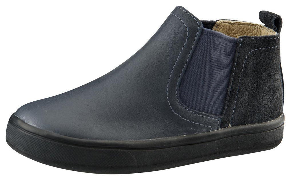 Old Soles Boy's and Girl's Split Local, Navy/Navy Suede