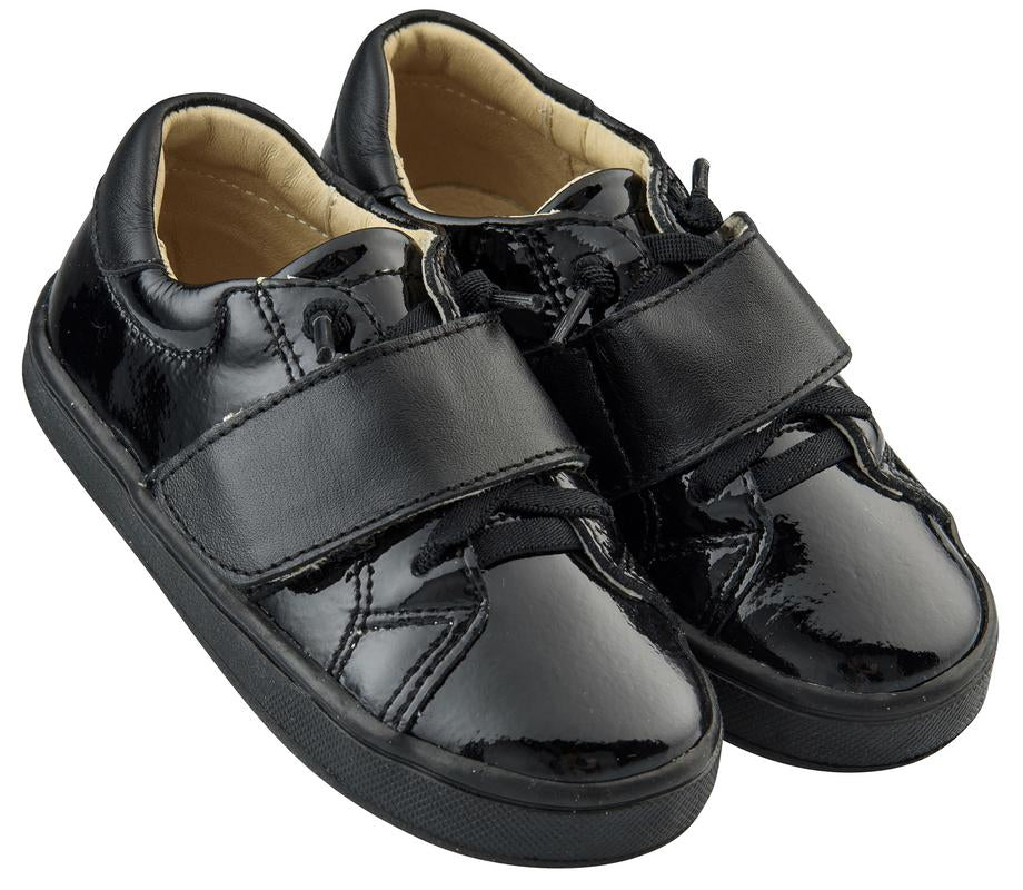 Old Soles Boy's and Girl's The Oscar Sneaker Shoe, Black