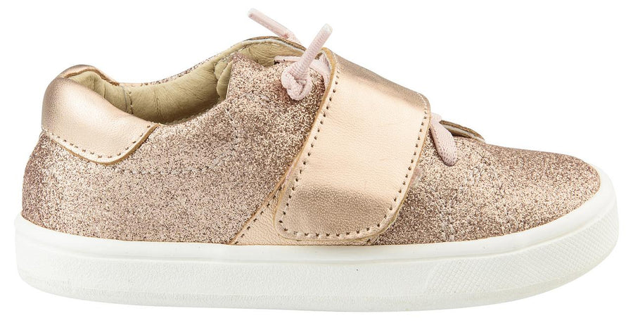 Old Soles Girl's The Oscar Sneaker Shoe, Glam Rose/Copper