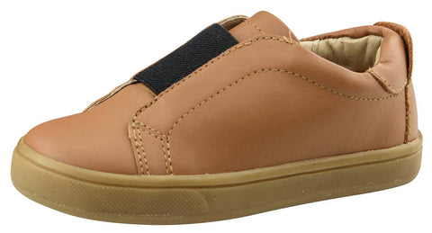 Old Soles Boy's and Girl's Peak Shoe Sneakers, Tan/Black