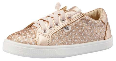 Old Soles Girl's Star Jogger Sneakers, Star Glam Copper