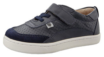 Old Soles Boy's & Girl's 6099 The Hub Sneaker - Navy/Navy