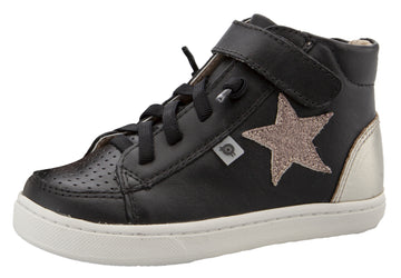 Old Soles Boy's & Girl's 6104 Champster Sneakers - Black/Glam Choc/Titanium