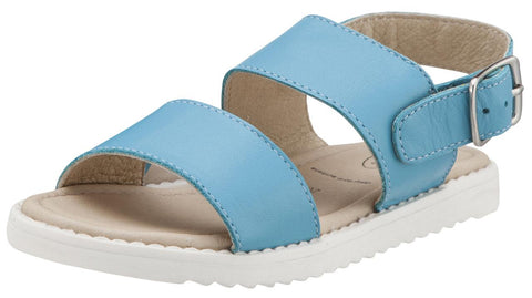 Old Soles Girl's Turquoise Shuk Leather Sandals