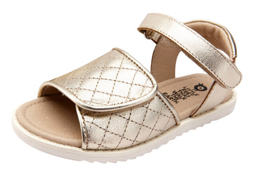 Old Soles Girl's 7026 Quilly Sandals - Gold
