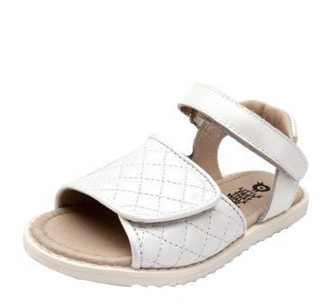 Old Soles Girl's 7026 Quilly Sandals - Snow
