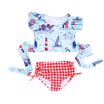 Blueberry Bay Pier House Two Piece Swimsuit