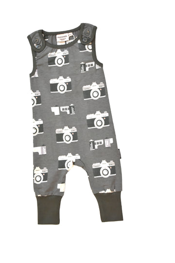 Moromini 8003 Vintage Camera Playsuit
