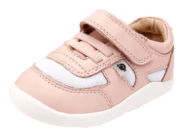 Old Soles Girl's 8010 Cruzin Shoe - Powder Pink/Snow