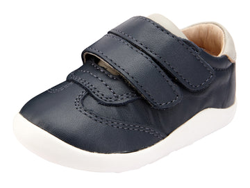 Old Soles Boy's Path Way Shoe - Navy/Gris/Gris