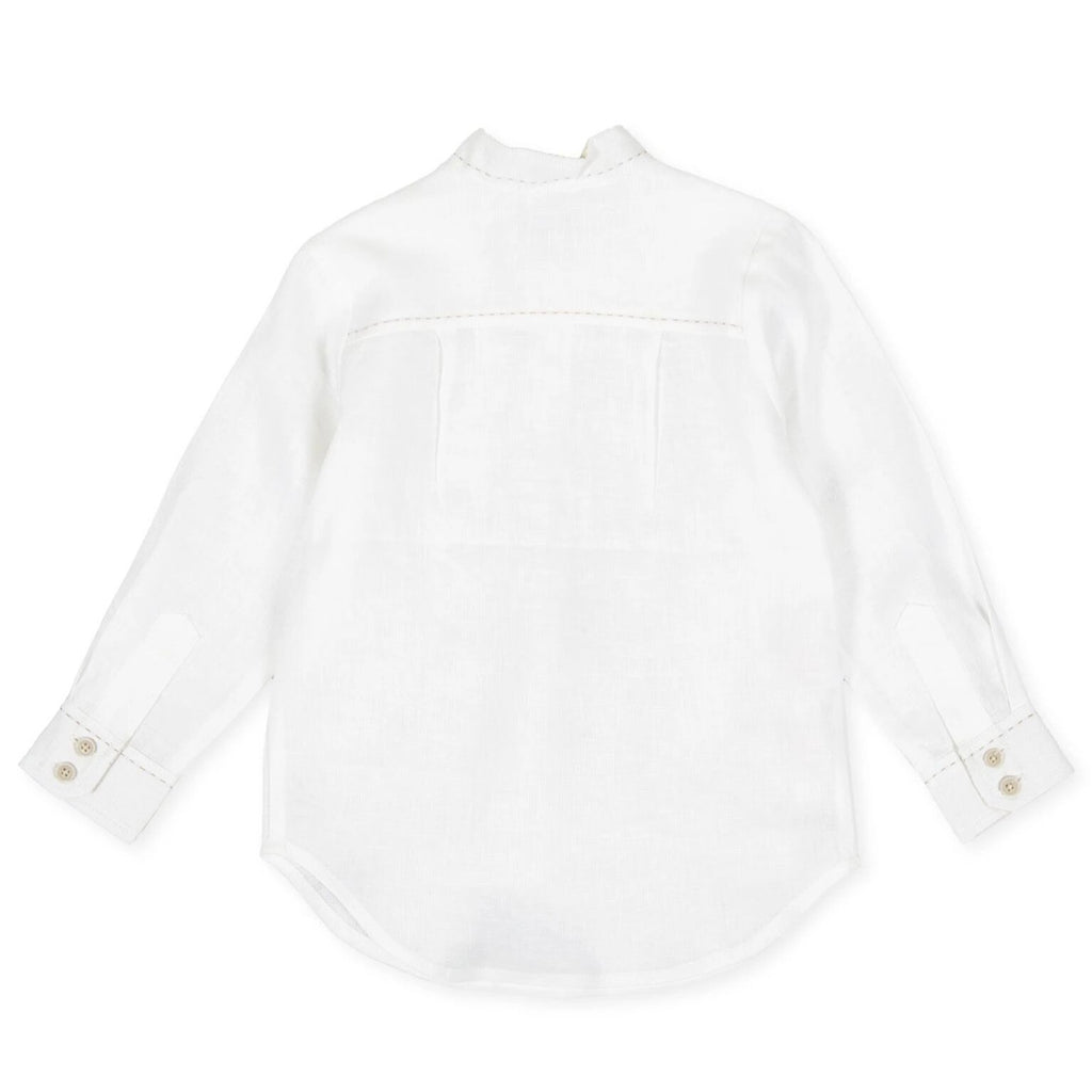 Tutto Piccolo 8032 Long Sleeve Shirt - Optical White