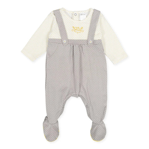 Tutto Piccolo Boy's Grey Footsie