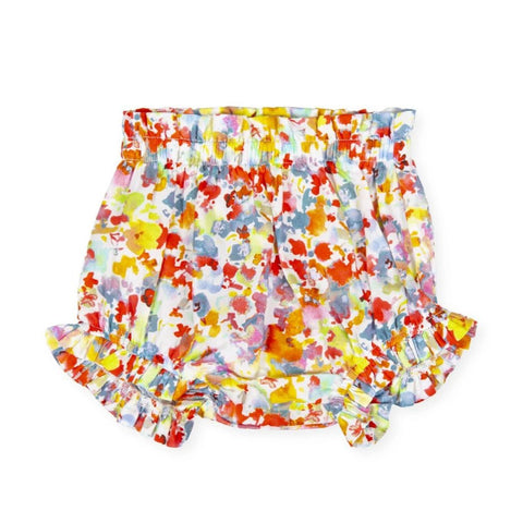 Tutto Piccolo Girl's Floral Bloomers Briefs