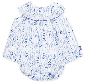 Tutto Piccolo Girl's 8211 Blue Dress