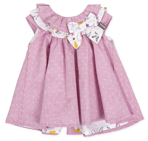 Tutto Piccolo 8216 Mauve Dress
