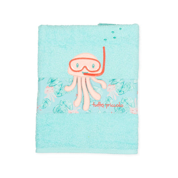Tutto Piccolo Green Beach Towel