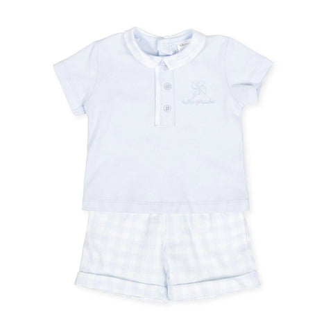 Tutto Piccolo Boy's & Girl's Blue Jersey Set