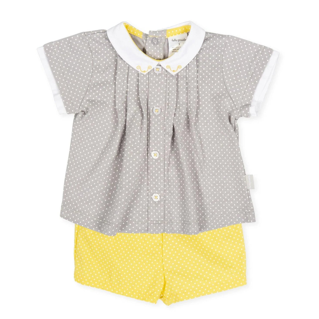 Tutto Piccolo Boy's and Girl's Jersey Set - Grey