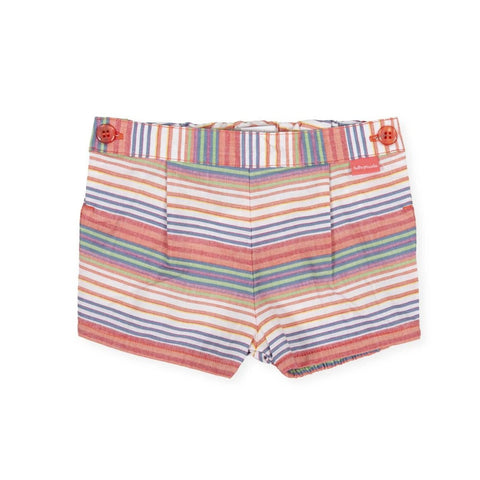 Tutto Piccolo Girl's Coral Shorts