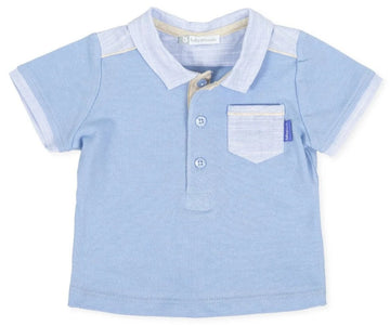 Tutto Piccolo 8811 Blue Polo Shirt