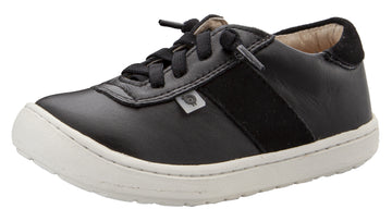 Old Soles Boy's & Girl's 9002 Travel Shoe - Black/Black Suede