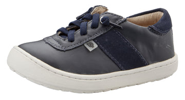 Old Soles Boy's & Girl's 9002 Travel Shoe - Navy/Navy Suede
