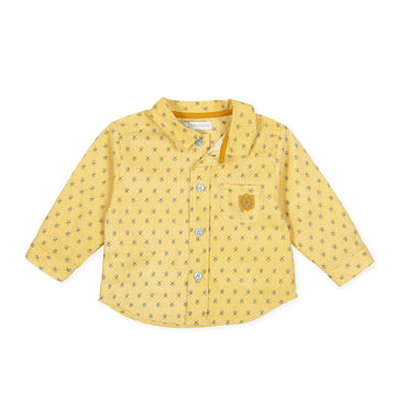 Tutto Piccolo Boy's & Girl's 9013 Camisa Viyella Shirt - Ecru