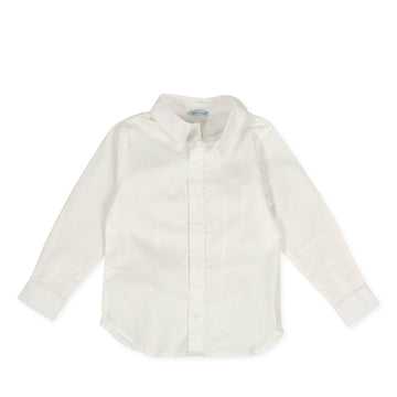 Tutto Piccolo Girl's & Boy's Camisa Viyella Shirt - Porcelain