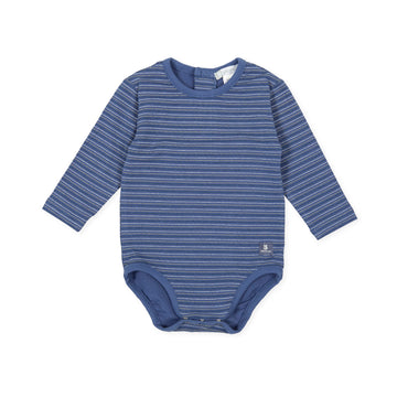 Tutto Piccolo Boy's & Girl's 9123 Body Punto Liso Bodysuit - Indigo