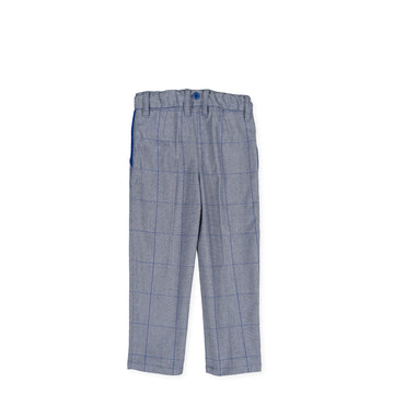 Tutto Piccolo 9132 Pantalón Jacquard Ea Trousers - Electric Blue