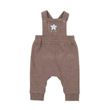 Tutto Piccolo 9391 Peto Interlock Dungaree -Taupe