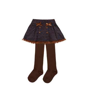Tutto Piccolo 9435 Falda Micropana Microcord Skirt - Dark Blue
