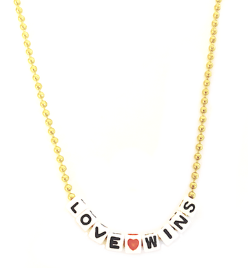 Gunner & Lux Love Wins Necklace