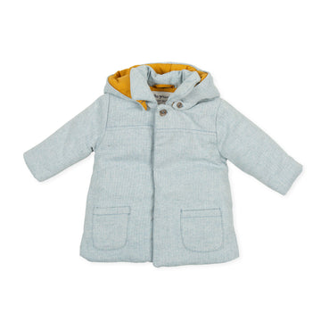 Tutto Piccolo Boy's & Girl's 9612 Chaquetón Espiga Coat - Porcelain