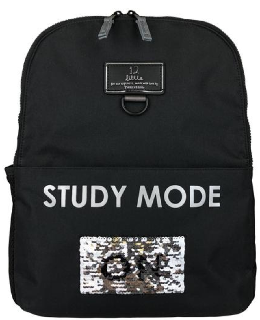 TWELVELittle Black BackPack Aventure Study Mode On/Off