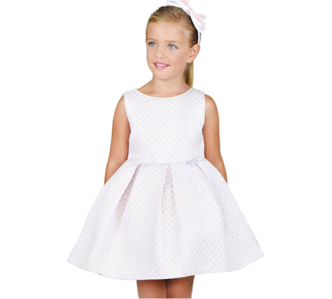 Amaya Girl's 513243SM Pink Dress