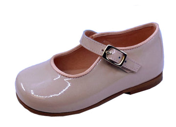 Clarys Girl's Maquillaje Mary Jane Shoes, Beige
