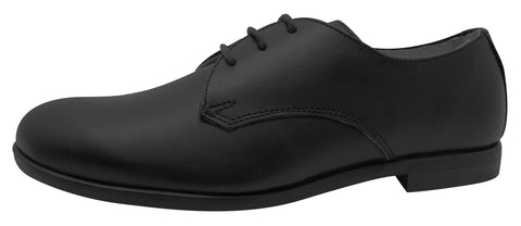 Oca-Loca Boy's 5549-06 Black Laced Tie Dress Shoes