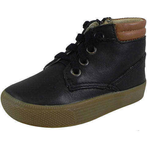 Old Soles Boy's & Girl's 1036 Black Distressed Rover Sneaker