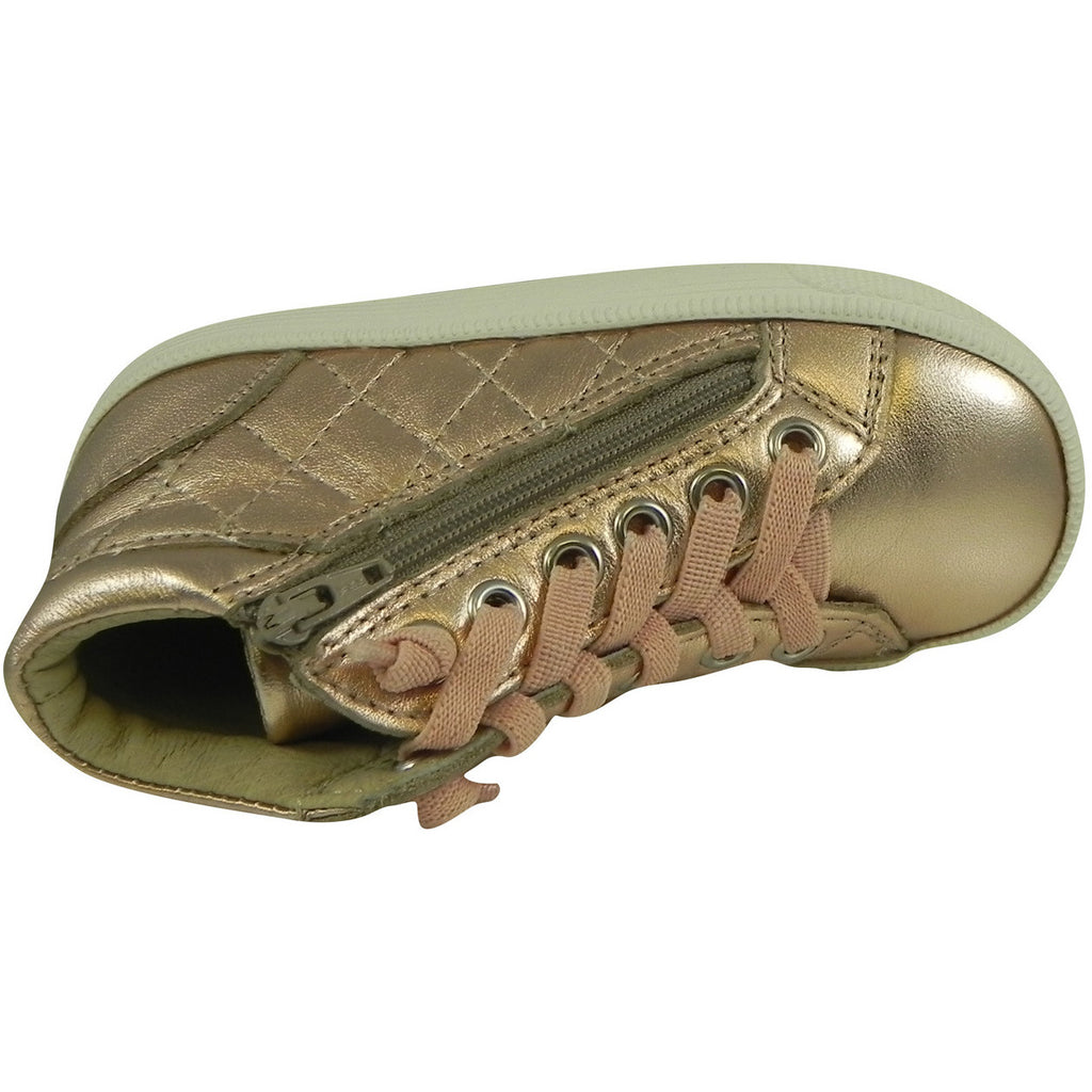 Old Soles Girl's 1041 Copper Eazy Quilt Sneaker