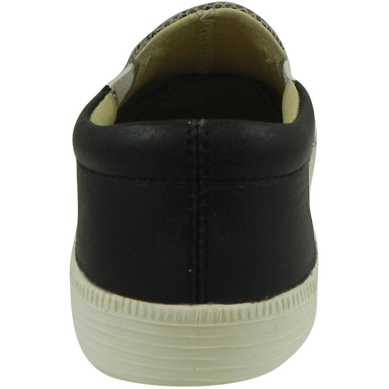 Old Soles Girl's and Boy's 1051 Mumba & Distressed Black Mighty Hoff Sneaker