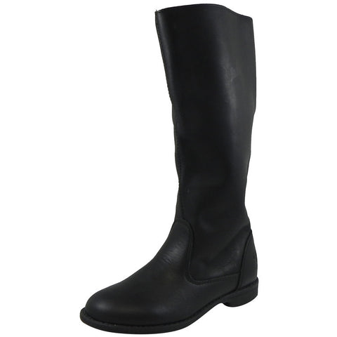 Old Soles Girl's 2014 Pride Boot Classic Black Leather Riding Boots - Just Shoes for Kids  - 1