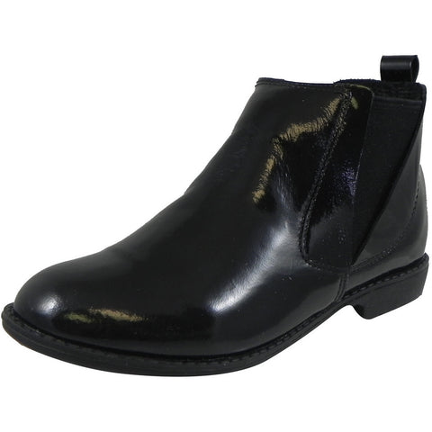 Old Soles Girl's 2013 Shanti Boot Black Patent Leather Bootie Shoe - Just Shoes for Kids  - 1