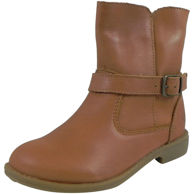 Old Soles Girl's 2000 Tan Millenium Leather Buckle Ankle Boots - Just Shoes for Kids  - 1
