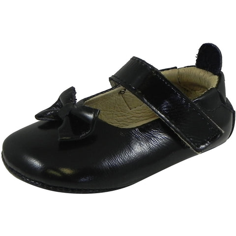 Old Soles Girl's 067 Dream Mary Jane Flat Black Patent - Just Shoes for Kids  - 1